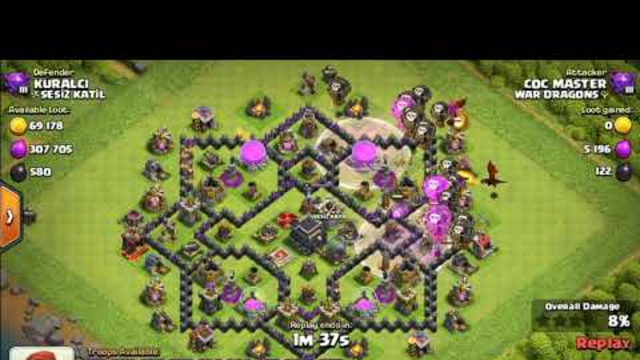 How to score three stars and attach easly in clash of clans