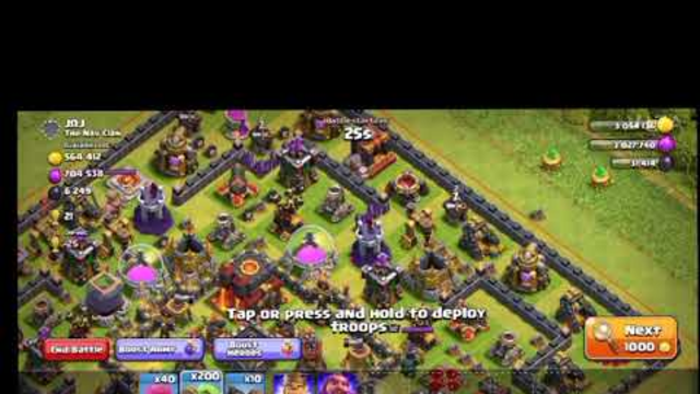 Clash Of Clans | Best Strategy | Max Town Hall 11| New Video 2020