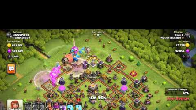 Clash of clans ||@Rohit ||  @Abdul || Join our Clan for max Troops nd spells