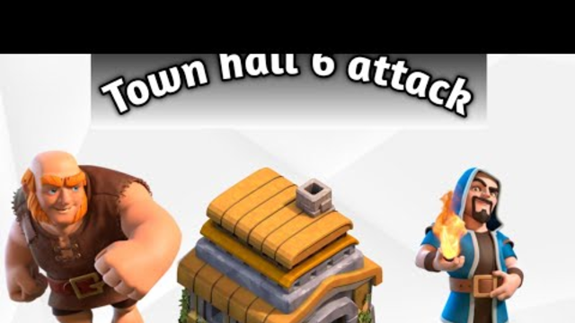Town hall 6 attack /clash of clans/ (INDIAN WARRIOR)