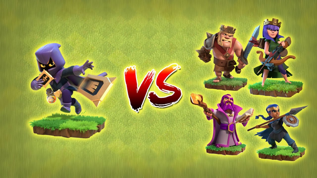 Max HeadHunter vs All Max Heroes | Clash of Clans | *Overpowered Headhunter* | NoLimits