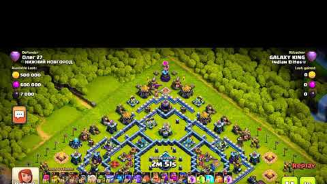 6 Pack in war with two Different Attack Strategyes. Clash of clans.