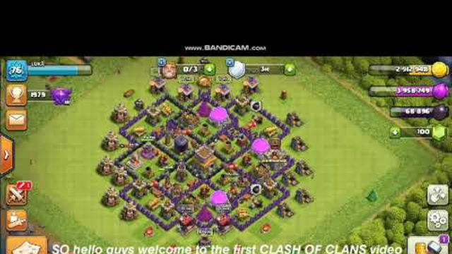 New TH8 3 star attack | Clash of clans | LUKA 760
