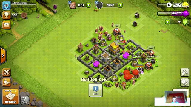 CLASH OF CLANS - HOW TO FARM AND ATTACK TO KEEP YOUR BUILDERS BUSY E.P: 8