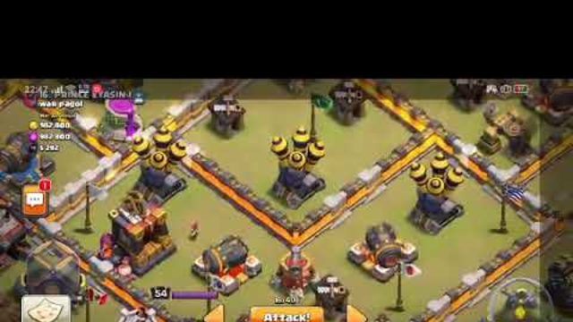TOWNHALL 12 WAR ATTACK(2)  | CLASH OF CLANS
