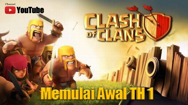 CLASH OF CLANS    Th 1    COC Game !!!!