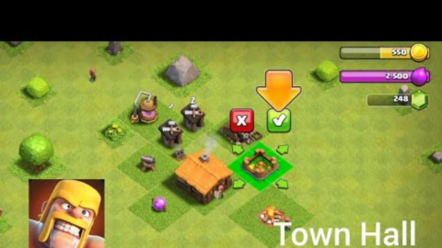 Starting officially Clash of clans from Town Hall 1   HS Gaming