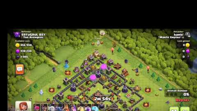 Intense 3star with 1HP Queen   Clash of Clans