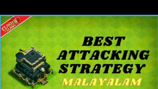 Best Town Hall 9 Attacking Strategy in Clash of clans malayalam. Ajith010 gaming Loon Attacking TH 9