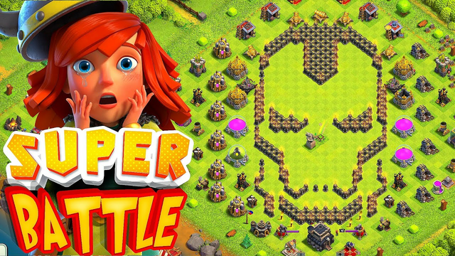 """Worst TH1 -TH13  Super Fast Build!! """"Clash Of Clans"""" Iron man Base!"""