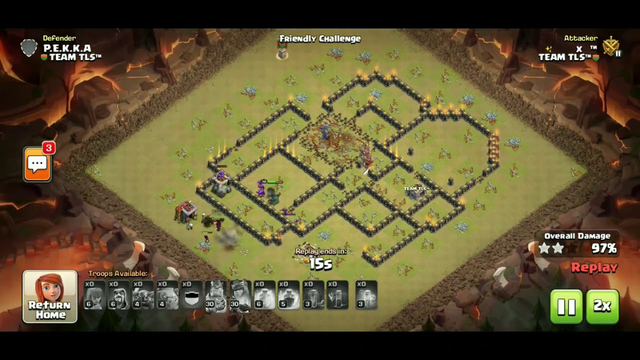 Gowipe Is Back? Gowipe With 4 Earthquake Spells Strategy TH9   Clash Of Clans   GOWIPE 2020