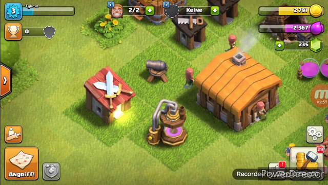 Clash of Clans #001 TOWN HALL 1 LET'S PLAY