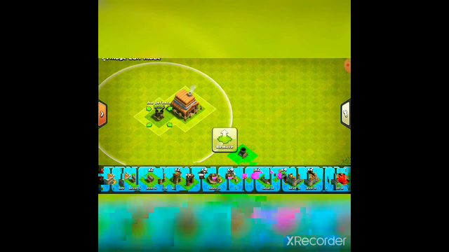 # Clash OF Clans        / TH 4 max base /