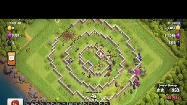 NEW 3 star any ring base TH1   Clash Of Clans