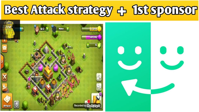 Clash of clans best strategy for TH 4 1st sponsor  by Faizan Ansari  