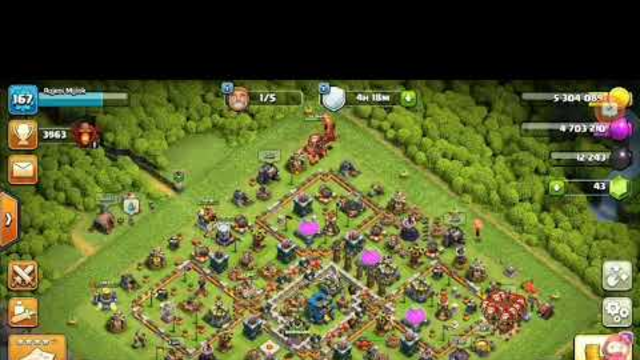 Loot attack with dargon and balloon..Clash of clans ..(COC)..