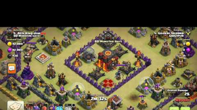 Coc war attack after a year| clash of clans