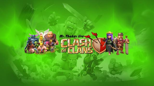 COC Live stream | Clash Of Clans Live 2020 | Mr.Thakur