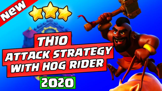 TOP 3 TH10 ATTACK STRATEGY WITH HOG RIDER | Clash of Clans | TOWN HALL 10 ATTACK STRATEGY
