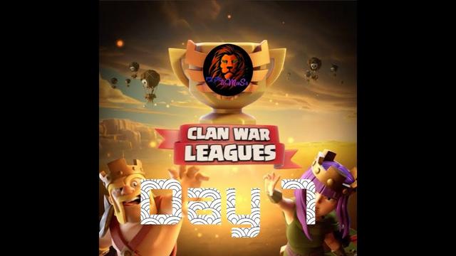 Day 7 War by Lower Base I'd | Clan War League | OPtiMuSs | Aneeq Khan | Clash of Clans | #1 - 15