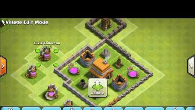 Clash of clans town hall 4 basic