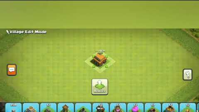CLASH OF CLANS TOWNHALL 3 HYBRID BASE