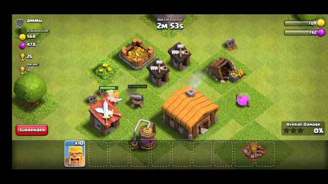 clash of clans, play after 1 year new account, start town hall 1