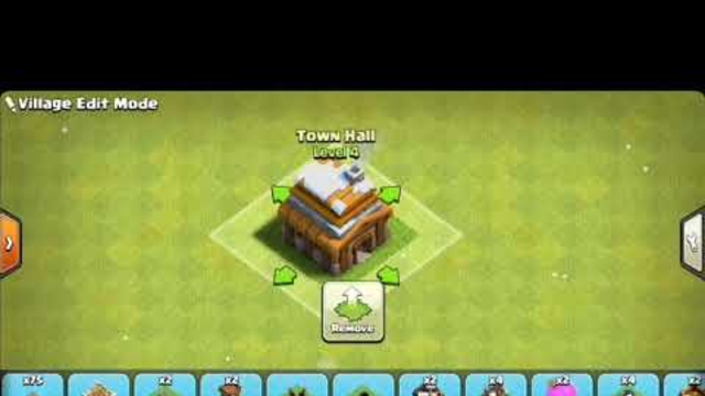 Town Hall 4 base set up   How to set the village Base   Clash of clans (COC)