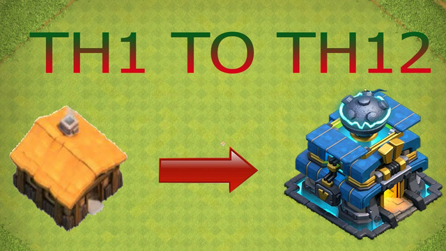 New COC TH1 To TH12 Max Within 47 Minutes 2020  CLASH OF CLANS