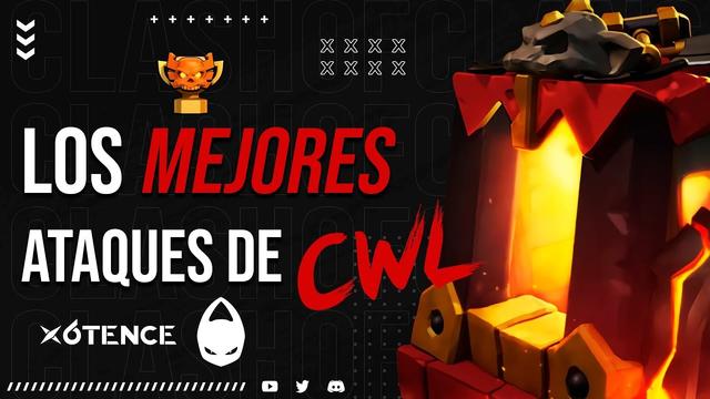LOS MEJORES ATAQUES CWL X6TENCE SEPTIEMBRE (339 ESTRELLAS) | CLASH OF CLANS
