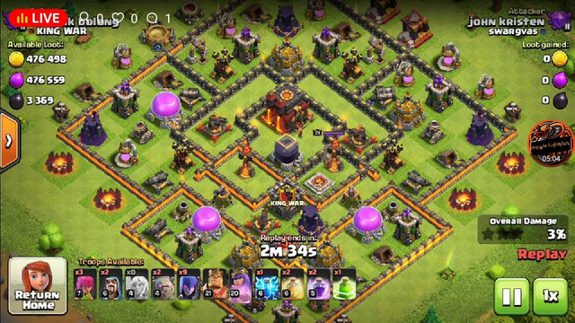 Clash of clans live clan recruitment