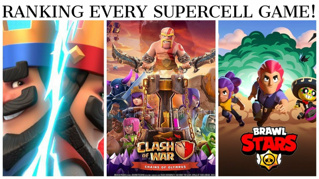 RANKING EVERY SUPERCELL GAME ! (2020) - CLASH OF CLANS , BRAWL STARS , HAY DAY! WHO IS NO.1