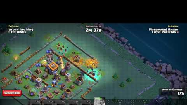 Clash of  clan | attack in builder base | witch attack | coc
