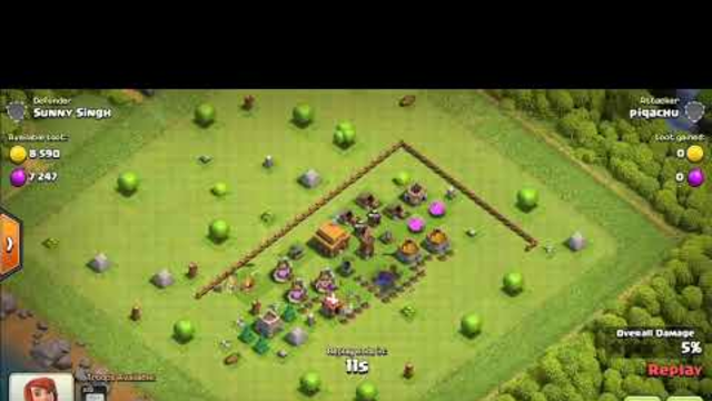 clash of clans #defence won