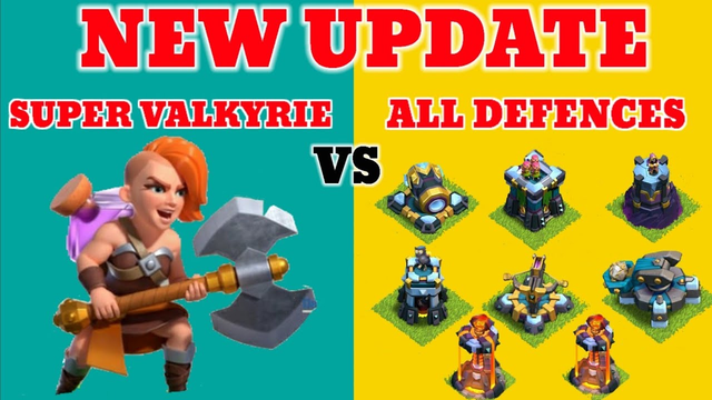 COC NEW UPDATED SUPER VALKYRIE | CLASH OF CLANS | BEST SUPER TROP | COMING SOON