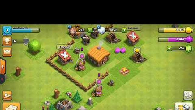 un gameplay de clash of clans no se me ocurrio nada mas :v