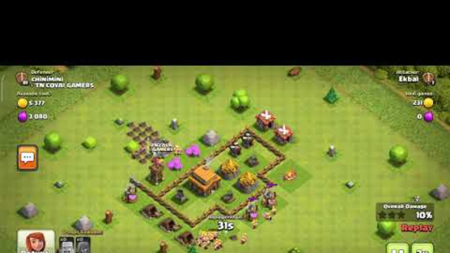 #clash of clan.... #coc #townhall 3