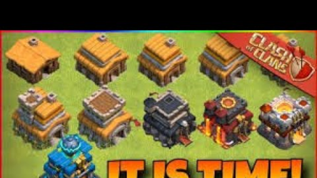CLASH OF CLANS th 3 to th 13. first video of clash of clans l pls subscribe