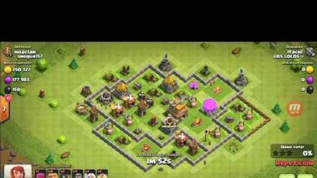 Ataque a TH7 (Clash of Clans)
