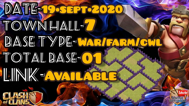 2020 NEW BEST! TH7 Base | TH7 Base Hybrid with COPY LINK - Clash of Clans WWME OFFICIAL