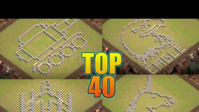 TH11 FUNNY BASE DESIGN + LINK | TOP 40 TROLL BASE DESIGN | CLASH OF CLANS