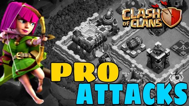 Th11 Pro attacks | Th11 Super archer attacks| Baby drag attack| COC