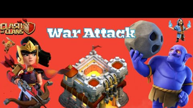 TH11 War Attack 3Star Reply..Coc || Clash of clans ||