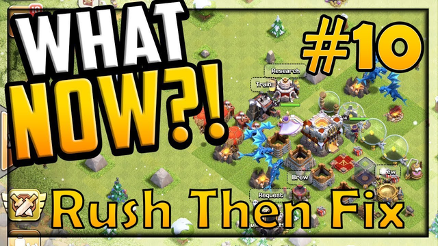 Rush Then Fix TH 11 Series episode 10th [Clash of Clans India, KnightClasher, Rush Then Fix Guide]