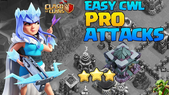EASY Pro CWL Attacks! TH13 Pro Attack Strategy - Best TH13 Attack Strategies in Clash Of Clans COC