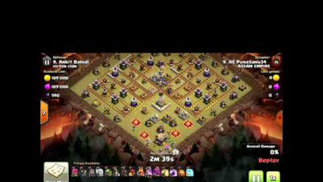TH11 Attack..Coc || Clash of clans ||