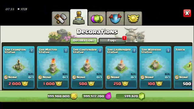 Clash of clans  Town hall 1 level to level 3