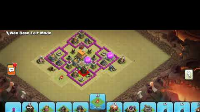 New Town Hall 6 War Base | Best Defense Base | Clash OF Clans
