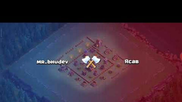 Clash of clans - builder base raged barbarian army attack for th6 and below #coc #5minutescoc