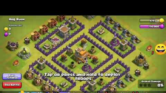 How to conquer someone in clash of clans town hall 6